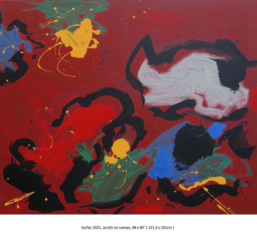 Eric Klemm, Fine Art Painting, 2021